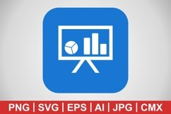 Vector Presentation Icon Product Image 1