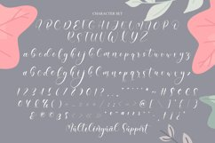 Amiela - Flower Calligraphy Product Image 9