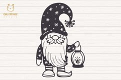 Scandinavian Gnomes SVG, Gnome Clipart, Tomte Product Image 4