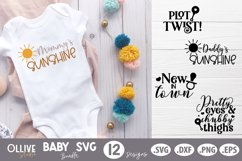 Baby SVG Bundle |12 Baby Quotes SVG Product Image 2