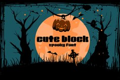 Cute Block | spooky and cute Product Image 1