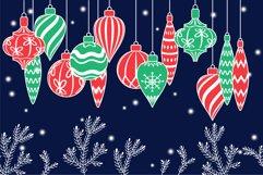 Christmas toys, Christmas ornament svg Product Image 5