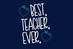 Teacher Doodles - A Dingbat Back To School Font  Product Image 2