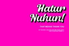 Uchul Cute Script Typeface Product Image 5