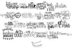 Washi Tape Doodle Font | Doodle Font Product Image 2