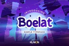 Boelat - Simple Typeface Product Image 1