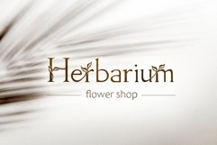Herb - floral serif ligature font Product Image 5