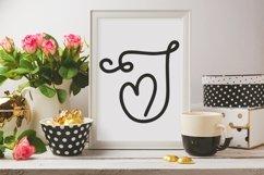 Web Font Sweet Valentine - A Monogram Font Product Image 3