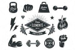 Retro Gym | Logo Templates Product Image 2