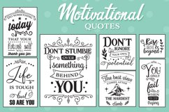 Motivational Quotes SVG Pack Product Image 1