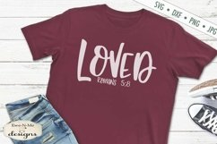 Strong | Salty | Loved | Chosen | Fearless | Christian SVG Product Image 4