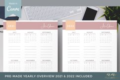 Canva Calendar Template for Printable Products Product Image 3