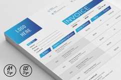Modern Invoice Template Google Sheets Excel Numbers Format Product Image 5