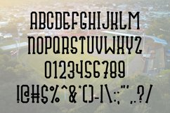 Fly Ball a Sporty Font Quad Product Image 2