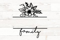 Floral Family Name Sign Product Image 2