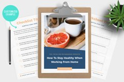 Lead Magnet / Workbook / Email Opt-In / Canva & Indd Product Image 6