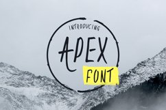 Apex Font Product Image 1