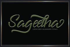Sageetha Script Product Image 1