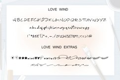 Love Wind font Product Image 5
