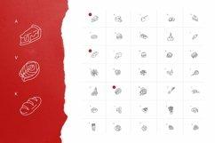 Web Font Food Dingbats Font Product Image 2
