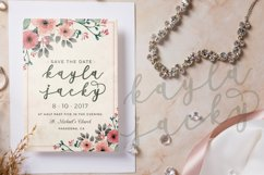 Milda A Bouncy Calligraphy Font Product Image 3