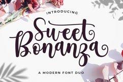 Sweet Bonanza Font Duo Product Image 1