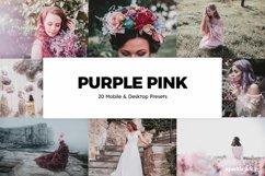 20 Purple Pink Lightroom Presets & LUTs Product Image 1