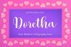 Doretha Script Product Image 1