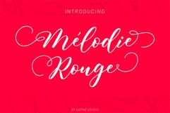Melodie Rouge Product Image 1