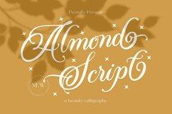 Almond Script Product Image 1