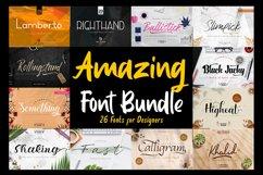Best Seller - Amazing Fonts Bundle Product Image 1
