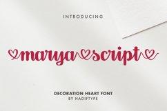 Marya Script Product Image 1