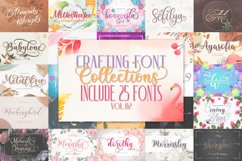 CRAFTING FONT COLLECTIONS - BUNDLE VOL.02 Product Image 1