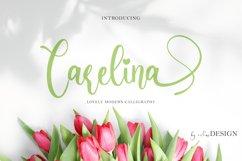 Carelina Font Product Image 1