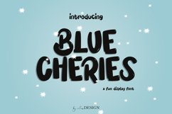 Blue Cheries Product Image 1