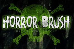 Horror Brush Product Image 1