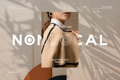 NONLOCAL Modern Sans Serif Product Image 1
