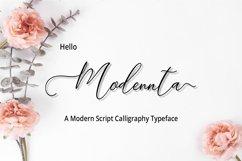 Modennta Script Product Image 1