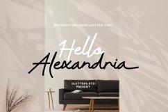 Hello Alexandria Modern Handwritten Product Image 1