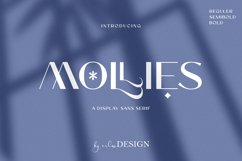 MOLLIES SANS SERIF Product Image 1