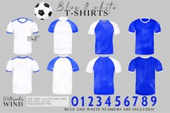 Watercolor football shirt png clipart, fathers day clip art Product Image 2