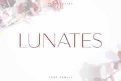 Lunates Font Family - Sans Serif Product Image 1