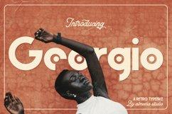Georgio | Retro Typeface Product Image 1