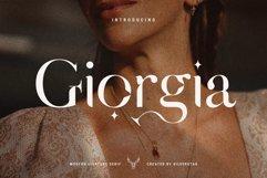 Giorgia - Elegant Ligature Serif Product Image 1