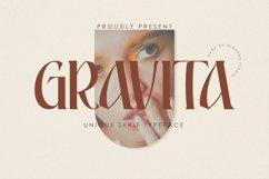 Gravita | Unique Serif Typeface Product Image 1