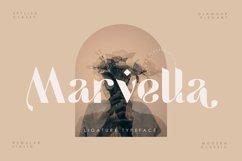 Marvella | Ligature Typeface Product Image 1