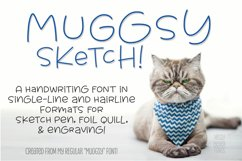 Sketch Font Bundle: single-line and hairline by Missy Meyer! Product Image 4