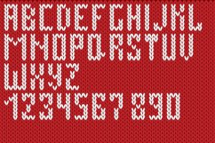 Christmas Knitted Font Ol Product Image 4