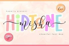 Misha Hiptone Font Duo - Playful Script and Sans Product Image 1