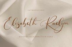 Elisabeth Raelyn - Wedding Calligraphy Product Image 1